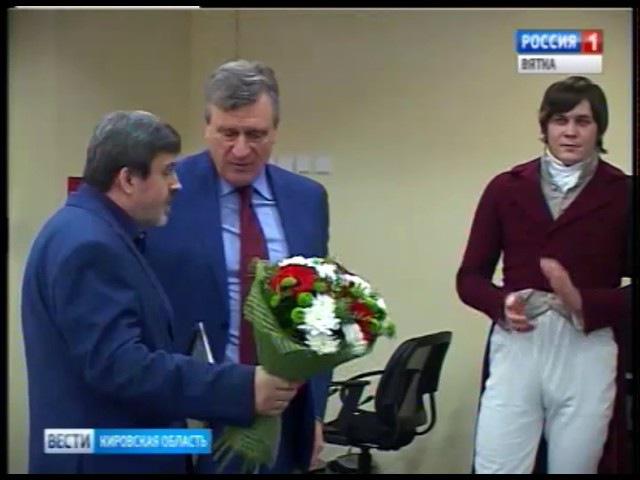 Вятский писатель Николай Пересторонин получил премию Александра Герцена(ГТРК В...