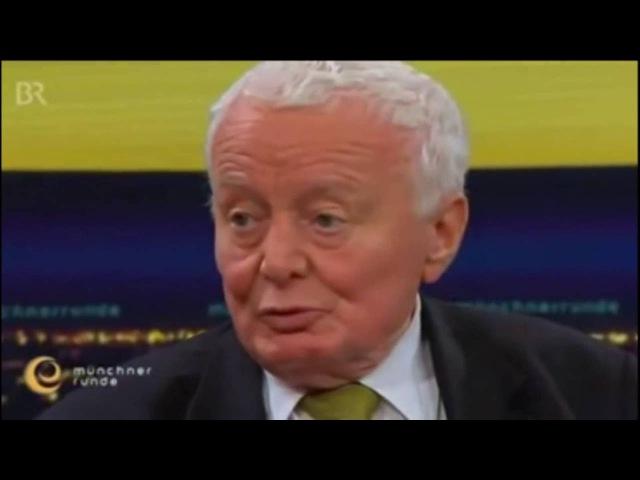 Prof. Dr. Arnulf Baring über rechte Bedrohung Die Nazis waren eine linke Partei