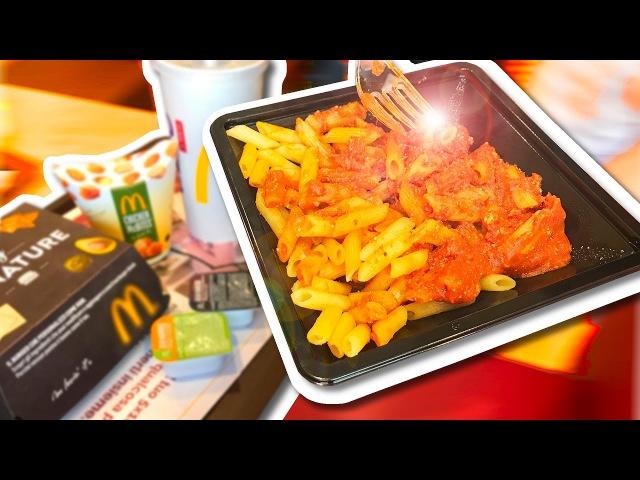 Макароны в Макдоналдс! Что едят в Ватикане?
