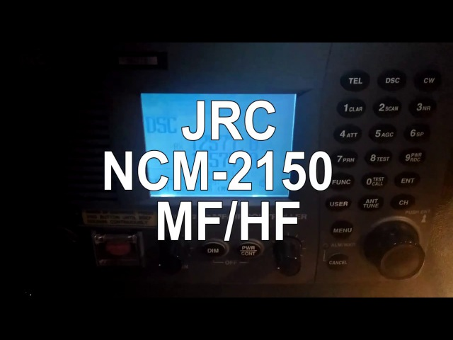 How to do MF HF JRC test ship to shore KARINA RYADOVICH 👫