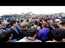 Hàng trăm xe khách đình công bến xe Mỹ Đình nhốn nháo hỗn loạn