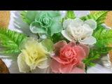 Vegetable Art In Rose - Radish Design In to flower &amp Ornament