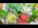 Vegetable Art In Rose Radish Design In to flower Ornament