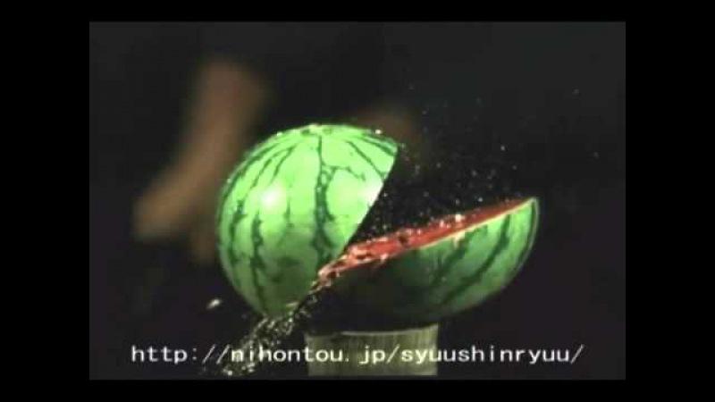 世界最強の一刀両断 TAMESHI GIRI 試し斬り