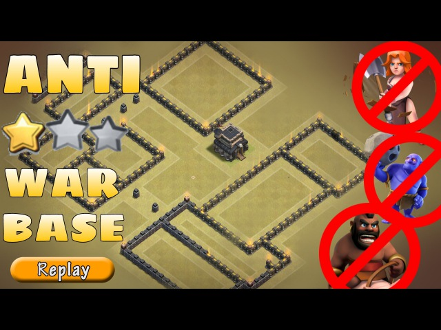 Th9 WAR BASE | Anti 3 STARS ( GOVAHO HGHB ) REPLAYS | NEVER GOT 3 STARED! | Clash of clans