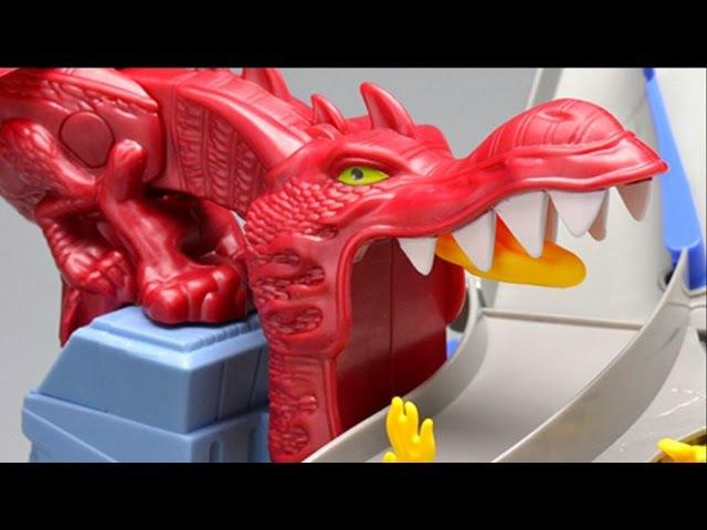 Top Ten Hot Wheels Fearsome Creatures Dragons Sharks Bones T Rex Cobra Scorpion