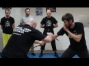 Гуро Александр Плаксин - работа с боевым ножом и Panantukan ( RAPT )