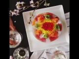 Суши-торт - суперская вещь для тех, кто не хочет крутить роллы или вертеть суши.