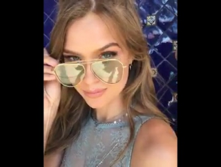 Vincent: Happy bday to this beautiful angel #josephineskriver #vsangeloasis #makeupbyme using @ex1cosmetics ✨❤
