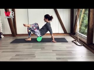 Массажные упражнения на роллере от Юлии Богдан