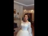 свадебный образ для Елены от Александры Кузьминой