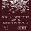 24 июня NEBULAE COME SWEET @ Model T (Москва)