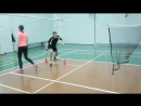 Training Badminton 2 klab Campion