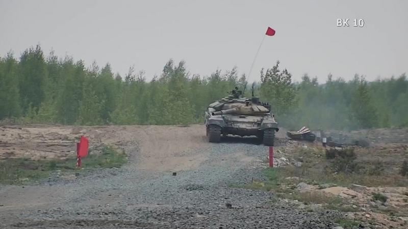 Танковый биатлон 16.05.2017
