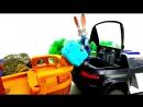 Секрет Джуди Хопс! Гонки на Полицейской Машине по Зверополис Видео для детей промашинки