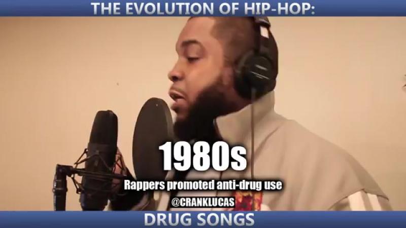 Crank Lucas-Evolution of Hip Hop Drug Songs
