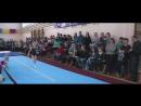 Настя. Первые шаги в спортивной гимнастике.