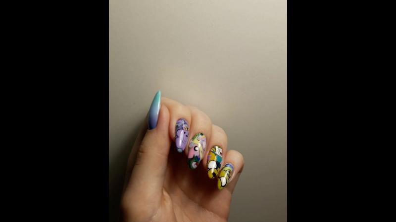 Время приключений на ногтях