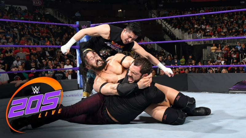 [WWE QTV]☆[.Weekle]205 Live]☆[31.05.2017[Neville responds to Austin Aries making him tap out]☆[205 Лайв[Невилл стучать]☆[720]