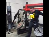 Jerry Pritchett (США), коромысло - 600 кг на 3 метра, подготовка к АК - 2017!