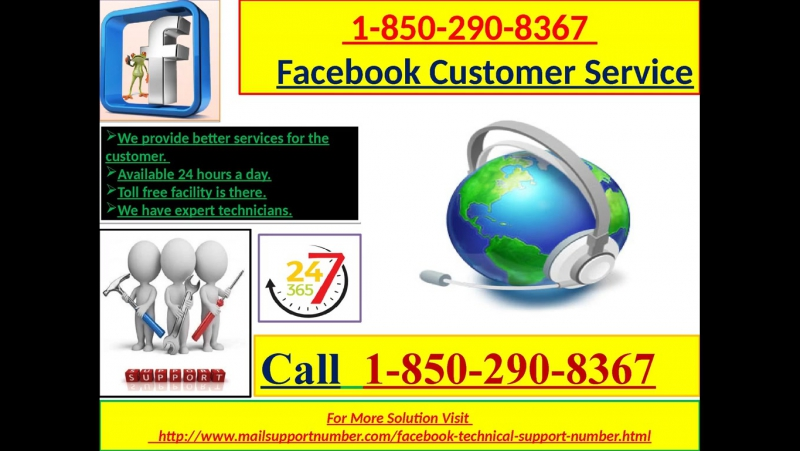 How does Facebook customer service 1-850-290-8367 play a key part in fixing FB issue?