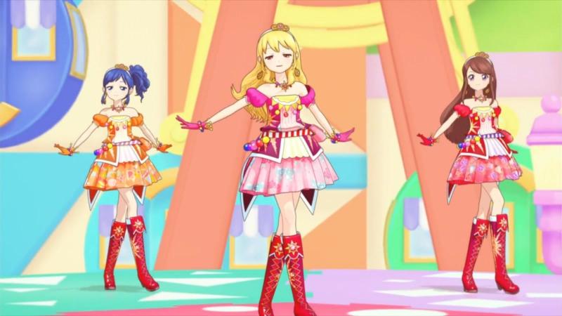 Aikatsu Episode 37 Diamond Happy Hoshimiya Ichigo Kiriya Aoi Shibuki Ran Soleil 1080p