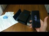 Распаковка Samsung Galaxy S8 от клиента ДНР-Маркет