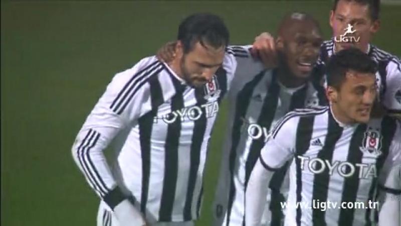 2013 - 2014 Sezonu - Trabzonspor-Beşiktaş dakika 85 gol Hugo Almeida