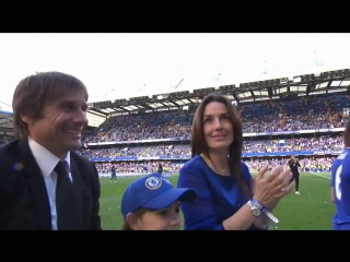 Антонио Конте со своей семьей! Chelsea FC - #ChelseaChampions