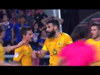 Таиланд 2:2 Австралия. Отбор на ЧМ-2018, Азия.