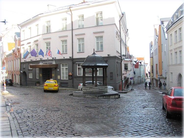 Улочки Таллина,  прогулки по городу
