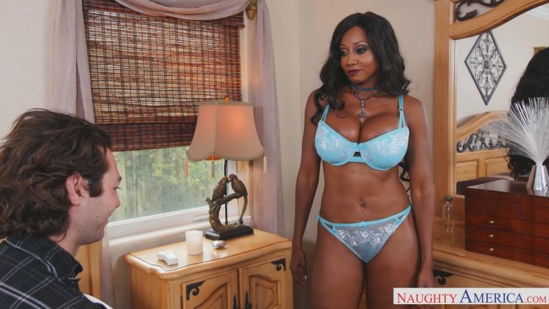 Diamond Jackson [HD 1080, all sex, interracial, big tits, MILF, new porn 2017]