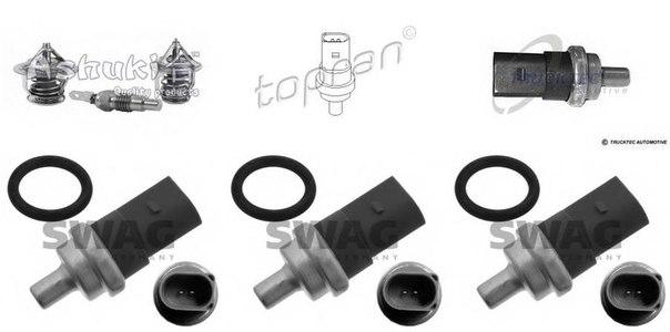 Датчик, температура охлаждающей жидкости; Датчик, температура охлаждающей жидкости; Датчик, температура охлаждающей жидкости для AUDI A5 кабрио (8F7)