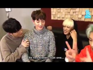 [V APP] ENG SUB VAV Maknae Ayno Kissing And Hugging His Ziu Hyung