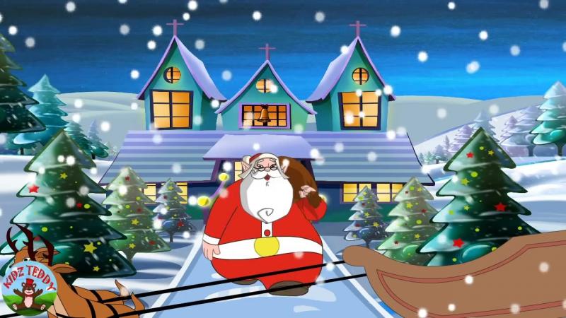 ▶ Jingle Bells - Nursery Rhymes with Lyrics - YouTube