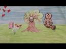 Создание рисованного мультфильма в рамках Детского клуба Мега Парнас. 12.08.2017