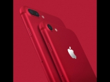 iPhone 7 и iPhone 7 Plus (PRODUCT)RED Special Edition
