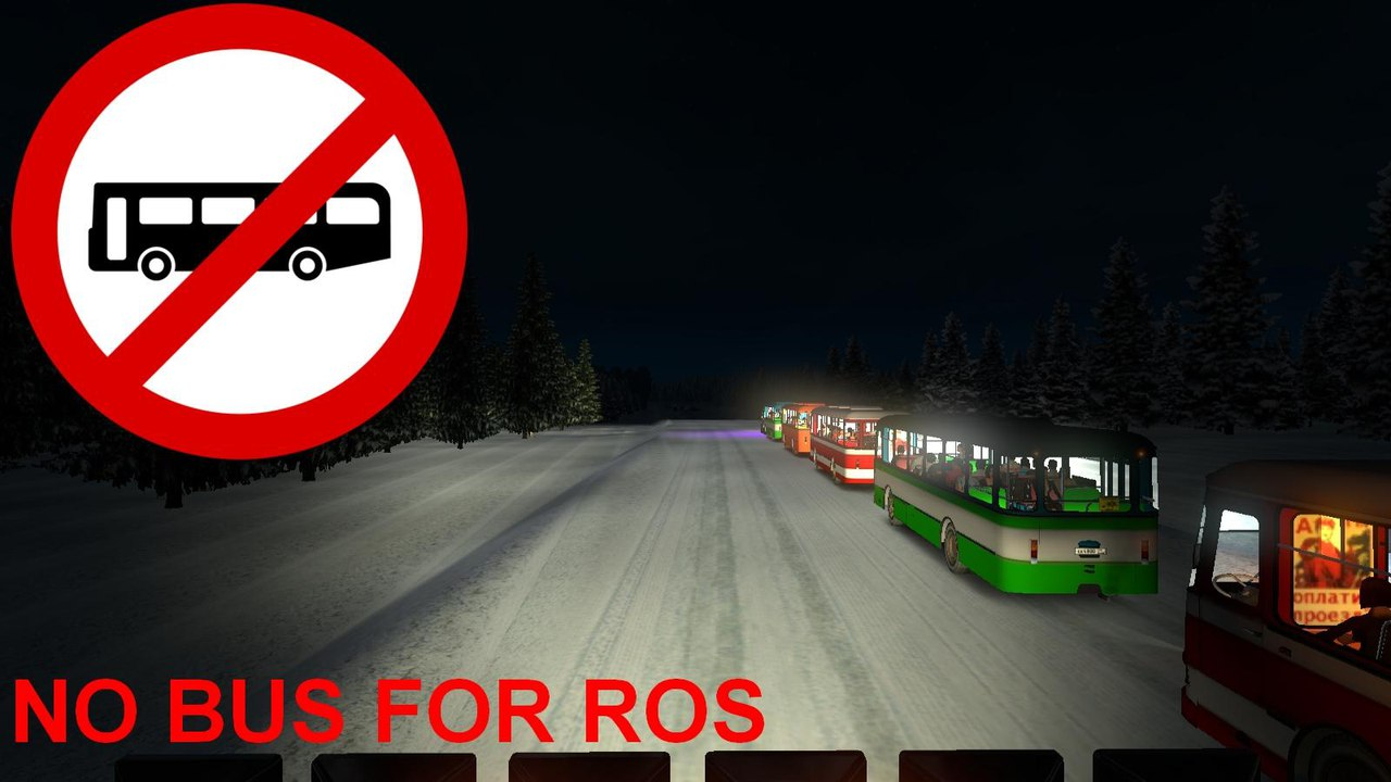 NO BUS IN TRAFFIC FOR ROS V4.0