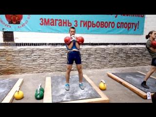 Толчок на турнире г. Харьков