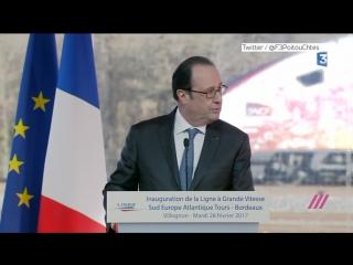 Снайпер случайно открыл огонь во время речи Олланда
