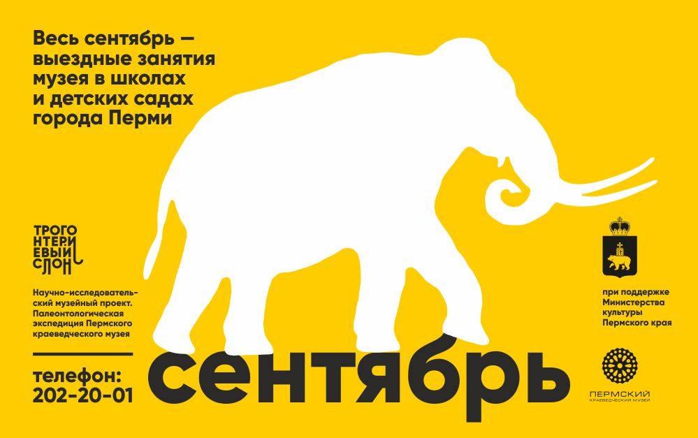 трогонтериевый слон отправляется в школу