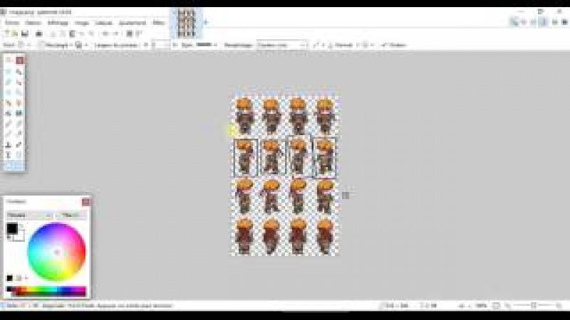 Создание игры на C/ SFML.Создаем анимацию персонажа и создаем время(clock). Урок 5