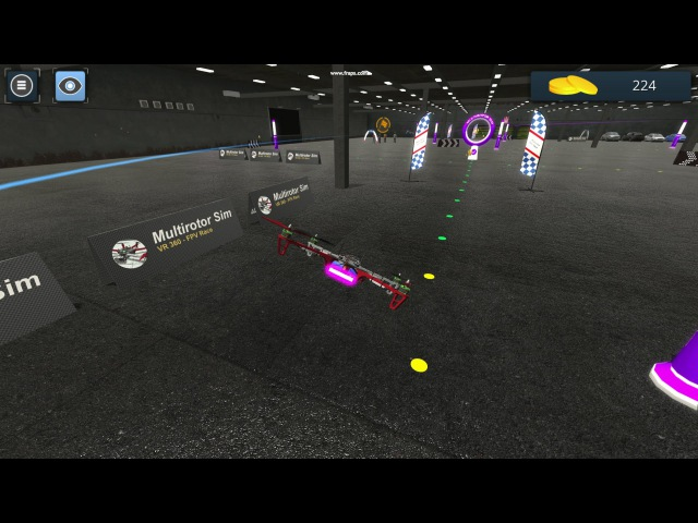 Multirotor Sim NG - Hangar location concept