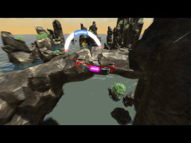 Multirotor Sim NG - Sea Rocks location concept