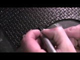 Making of Witch Hunter medieval leather archery back quiver.FULL HD...