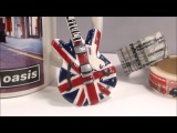 Guitare Union Jack signature No