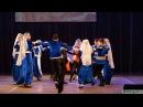 "Армянский танец ""Кочари"". Исполняют младшая и средняя группы ансамбля ""Ахтамар"""