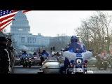 トランプ大統領就任式パレードのリハーサル:2017/1/15 ワシントンD.C.