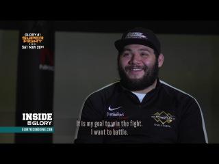 Ismael 'The Star' Lazaar Breaks Down his GLORY 41 opponent Rico Verhoeven
