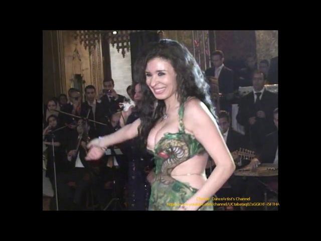 Dina, Taht el shibak choreography, دينا تحت الشباك